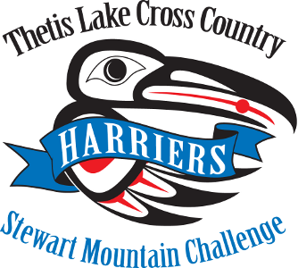 Stewart Mountain Challenge raven logo